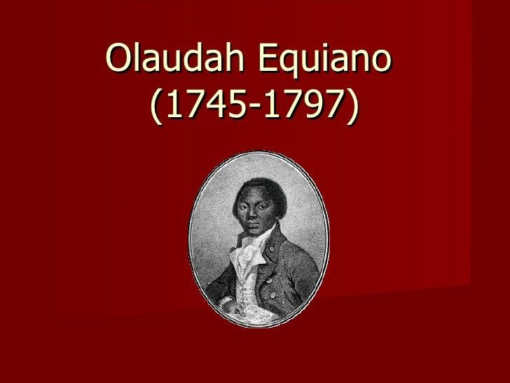 Olaudah equiano essay