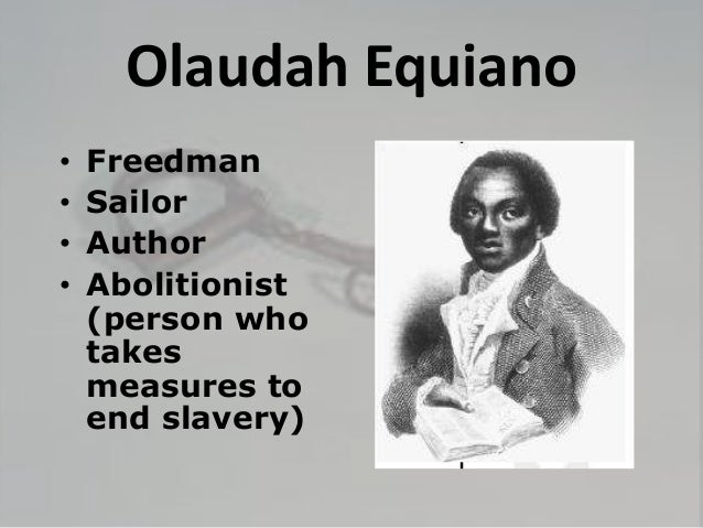 the life of an african slave in the autobiography of olaudah equiano The interesting narrative of the life of olaudah equiano or gustavus  the life of olaudah equiano or gustavus vassa the african  slave trade, autobiography.