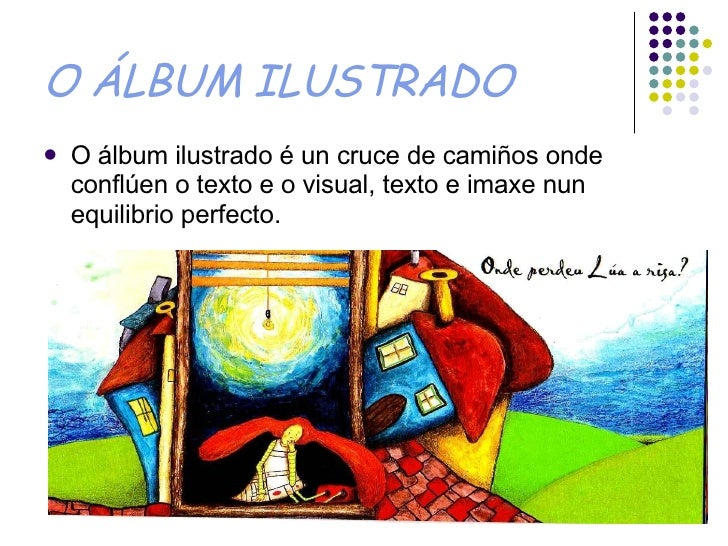 O álbum Ilustrado Slide 2
