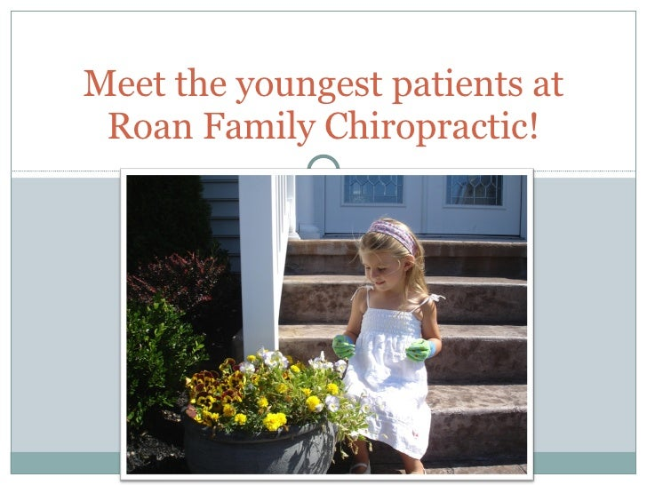 Meet the youngest patients at Roan Family Chiropractic!