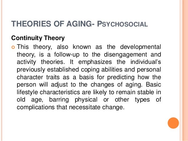 how theories of ageing approach older people Dna damage theory of ageing: molecular ageing theories) in the number and proportion of older people in society population ageing has three.
