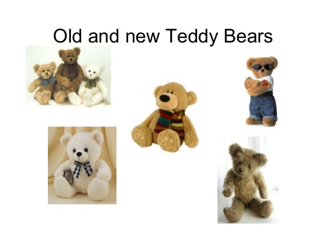 Old and new Teddy Bears