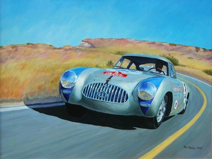 Old Cars Paintings
