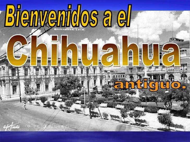 Bienvenidos a el Chihuahua antiguo.