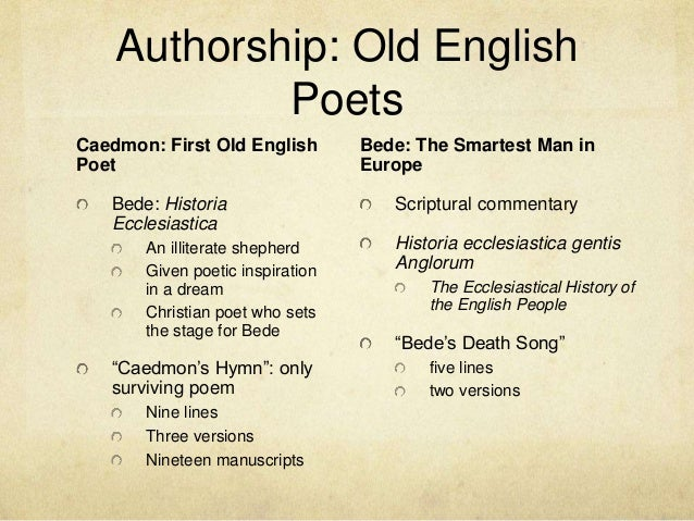 OLD ENGLISH POETRY PDF DOWNLOAD