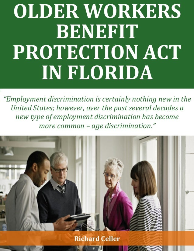 Older Workers Benefit Protection Act in Florida