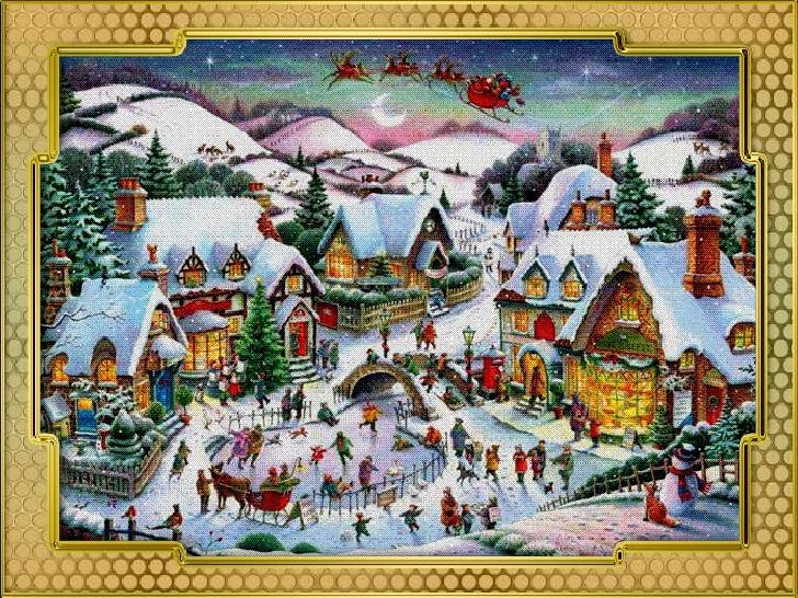 Old Fashioned Christmas Cards 2