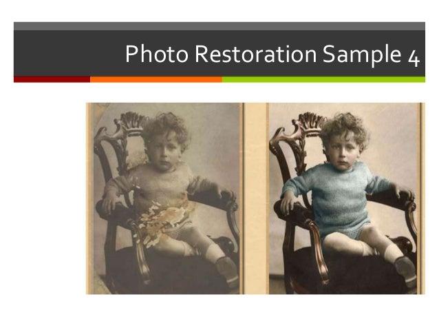 Old Photo Restoration Services