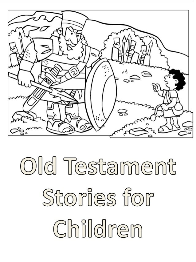 Old Testament Stories For Children Coloring Book