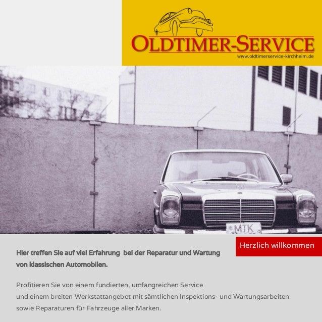 Hier treffen Sie auf viel Erfahrung bei der Reparatur und Wartung von klassischen Automobilen. Profitieren Sie von einem f...