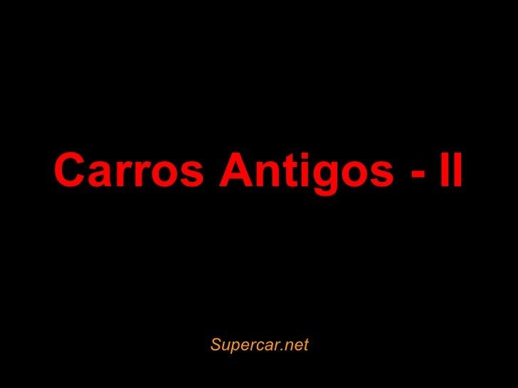 Carros Antigos - II Supercar.net
