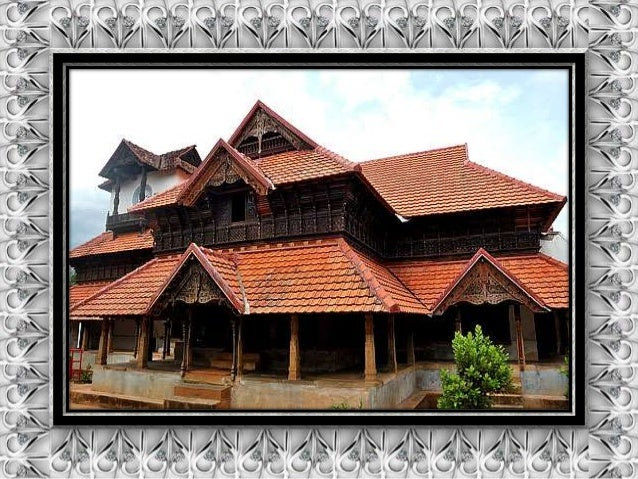old traditional houses of kerala india