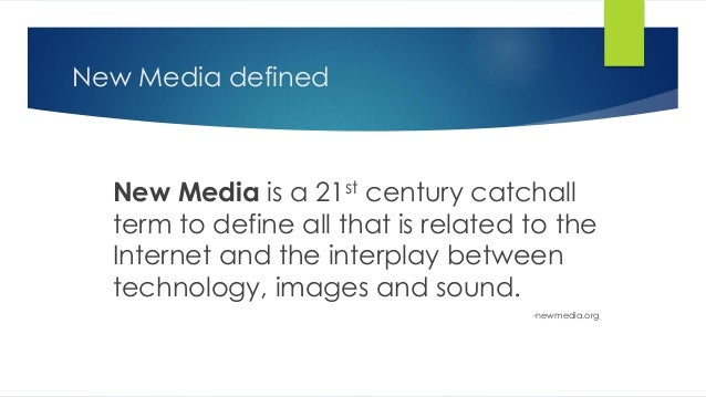 new media old media essay New media, it turns out, is a very old tale  new media encounter such as this  caliban moment of media enchantment/media colonization in mcluhan's essay.
