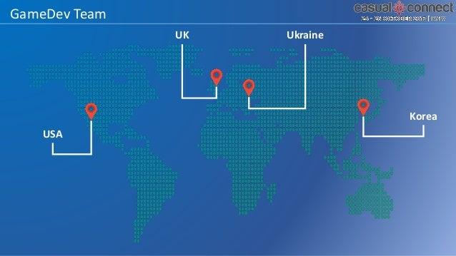 GameDev Team UK Ukraine USA Korea