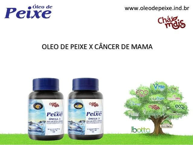 www.oleodepeixe.ind.brOLEO DE PEIXE X CÂNCER DE MAMA