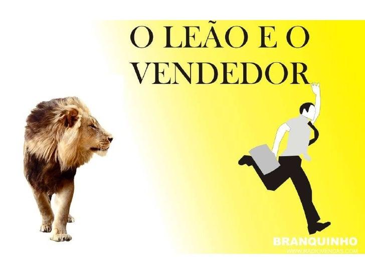 O leão e o vendedor