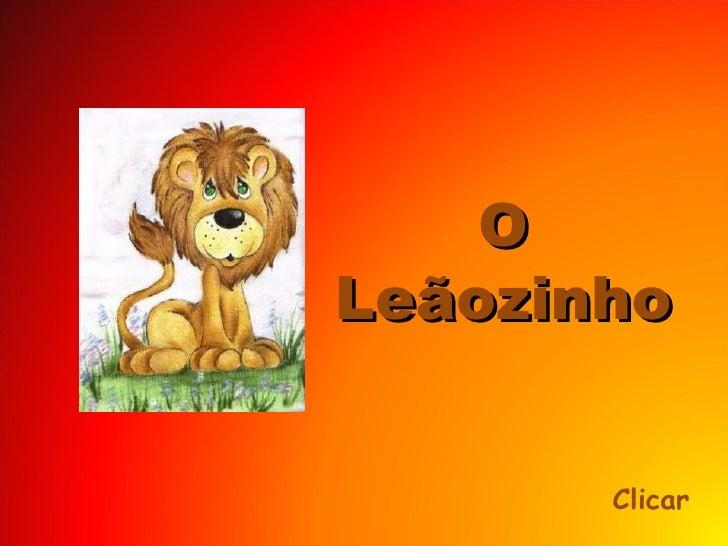 O Leãozinho Clicar