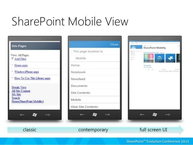 Sharepoint 2013 Enterprise Mobile Strategy London Joel