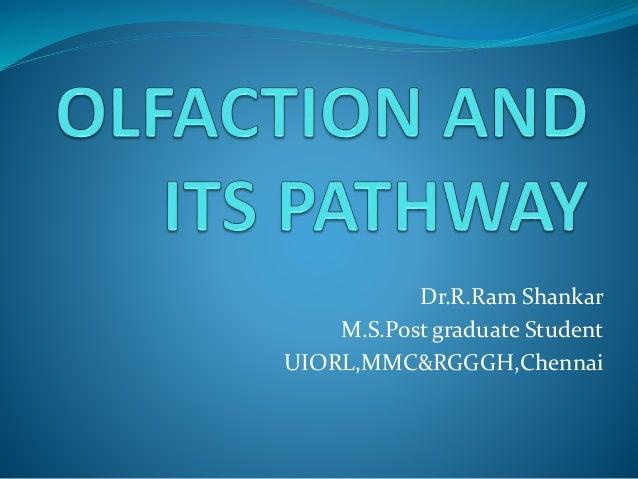 Dr.R.Ram Shankar M.S.Post graduate Student UIORL,MMC&RGGGH,Chennai