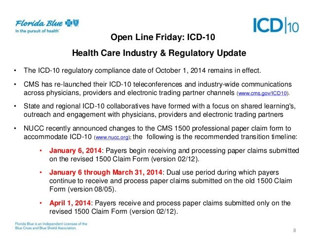 Seven Months to ICD-10: Useful Guidance for the Countdown