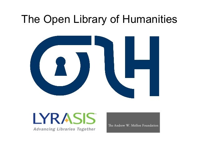 The Open Library of Humanities
