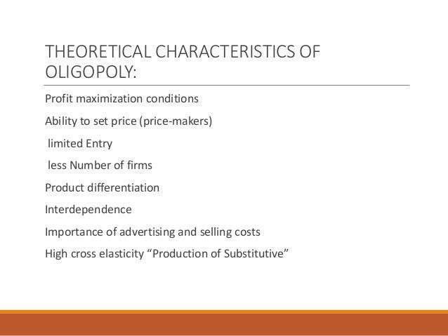 importance of oligopoly