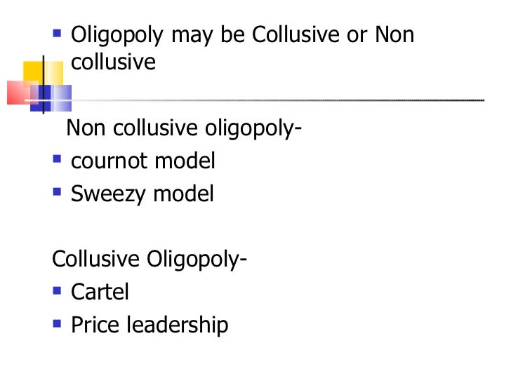 sweezy oligopoly model Chapter 9 - basic oligopoly models - practice study play the cournot theory of oligopoly assumes rivals will: keep their output constant in a sweezy oligopoly, a decrease in a firm's marginal cost generally leads to:  the sweezy model of oligopoly reveals that.
