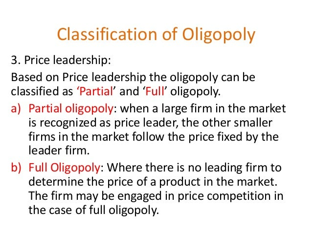 oligopoly cases Oligopoly market price elasticity of demand case solution,oligopoly market price elasticity of demand case analysis, oligopoly market price elasticity of demand case study solution, abstract: the case is about price elasticity of demand in oligopoly market due to sudden change in its price.