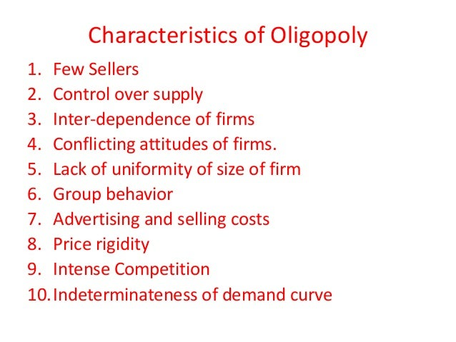 What is the Opposite of oligopoly?