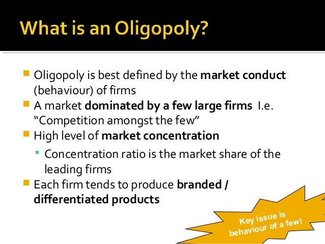 what are the key features of oligopoly economics essay Advertisements: oligopoly as a market structure is distinctly different from other market forms its main characteristics are discussed as follows: 1 interdependence: the foremost characteristic of oligopoly is interdependence of the various firms in the decision making  top 9 characteristics of oligopoly market  essays, articles and.