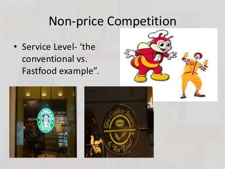 differences between price and non price competition markets Difference between price and non price competition  lets look at some of the differences between price and non-price competition  financial markets.