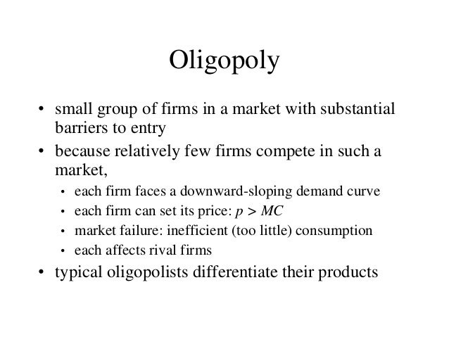 strategic interactions of players in oligopoly markets Game theory is the study of how people behave in strategic situations this article explains the concept of game theory and how it applies to decisions.