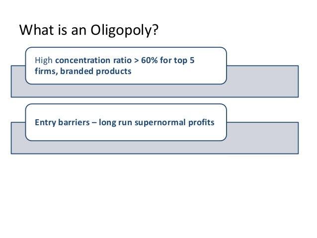 Oligopoly Essentials Slide 3