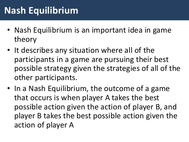 An equilibrium occurs in a game when a price equals ...