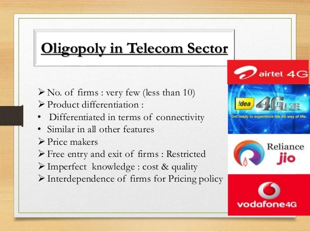 oligopoly in india Example of oligopoly: in india, markets for automobiles, cement, steel, aluminium, etc, are the examples of oligopolistic market in all these markets, there are few .
