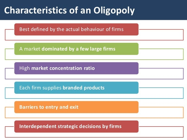 oligopoly economics 1 main assumptions oligopoly 2 price s Chap 13 monopolistic competition and oligopoly in monopolistic competition, each firm's marginal earn an economic profit d)set their price above.