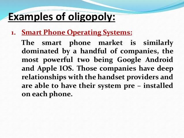 Oligopoly essay