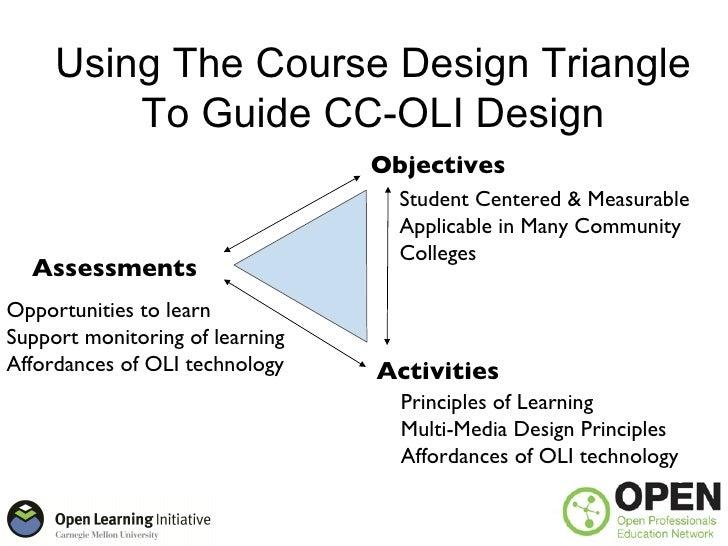 OPEN Kickoff: OLI Learner Centered Design
