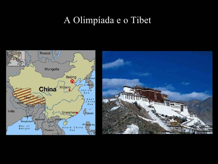 A Olimpíada e o Tibet