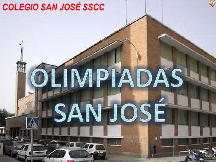 COLEGIO SAN JOSÉ SSCC        COLEGIO SAN JOSE              SSCC              OLIMPIADAS