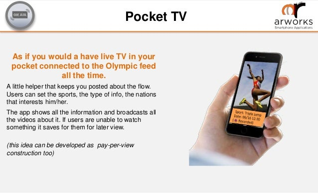 Mobile App Ideas for the Olympics by ARworks 2