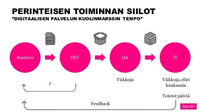 Onko organisaatiosi kypsä DevOpsiin? Slide 3