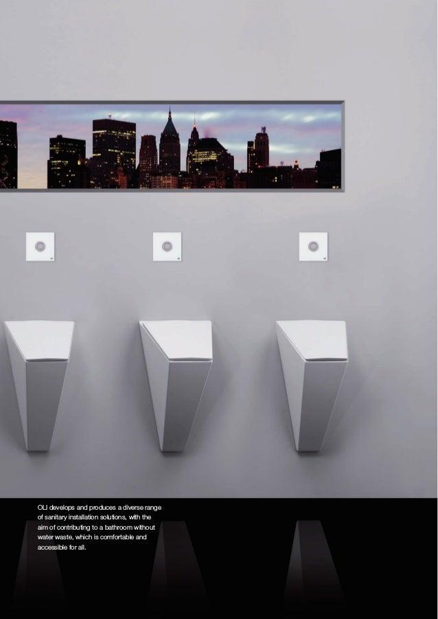 OLI sanitary systems general catalogue 2018 2019