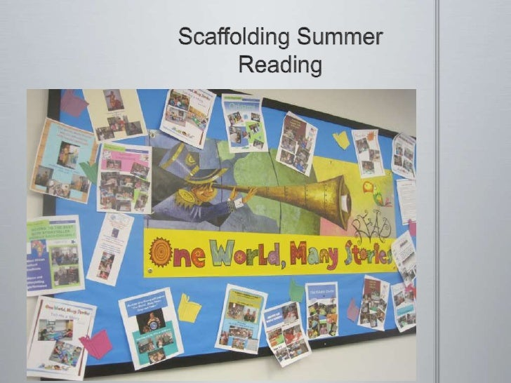 Scaffolding Summer Reading<br />
