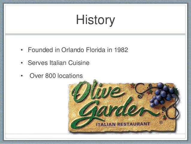 Olive Garden Final Presentation