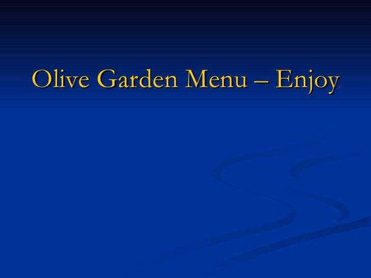 Olive Garden Menu – Enjoying The Delightful Olive Garden Menu Options