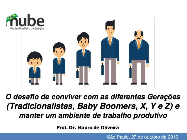 I'll do the review until the 15th. O desafio de conviver com as diferentes Gerações (Tradicionalistas, Baby Boomers, X, Y ...