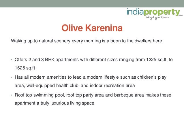 Waking up to natural scenery every morning is a boon to the dwellers here. • Offers 2 and 3 BHK apartments with different ...