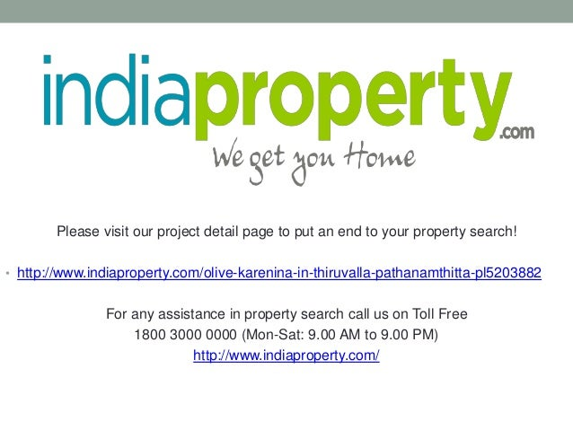 Please visit our project detail page to put an end to your property search! • http://www.indiaproperty.com/olive-karenina-...