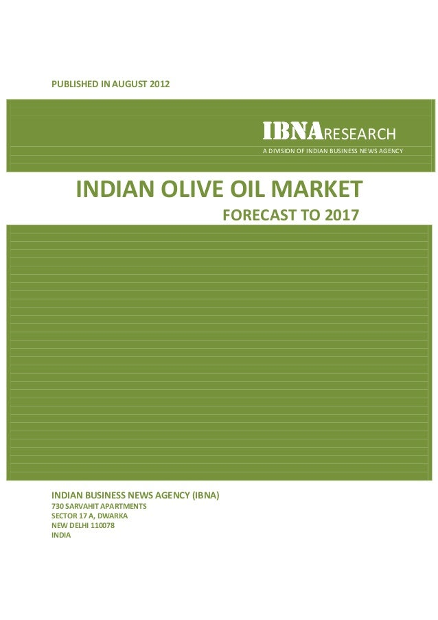 PUBLISHED IN AUGUST 2012                                         IBNARESEARCH                                         A DI...
